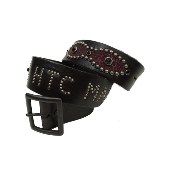 HTCHollywood Trading CompanyHTC MAKERS BELT レザースタッズベルト 【marquee】