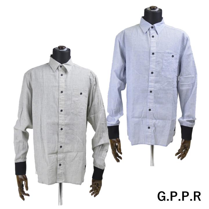 GPPR シャツ リブ BRANSON 【marquee】