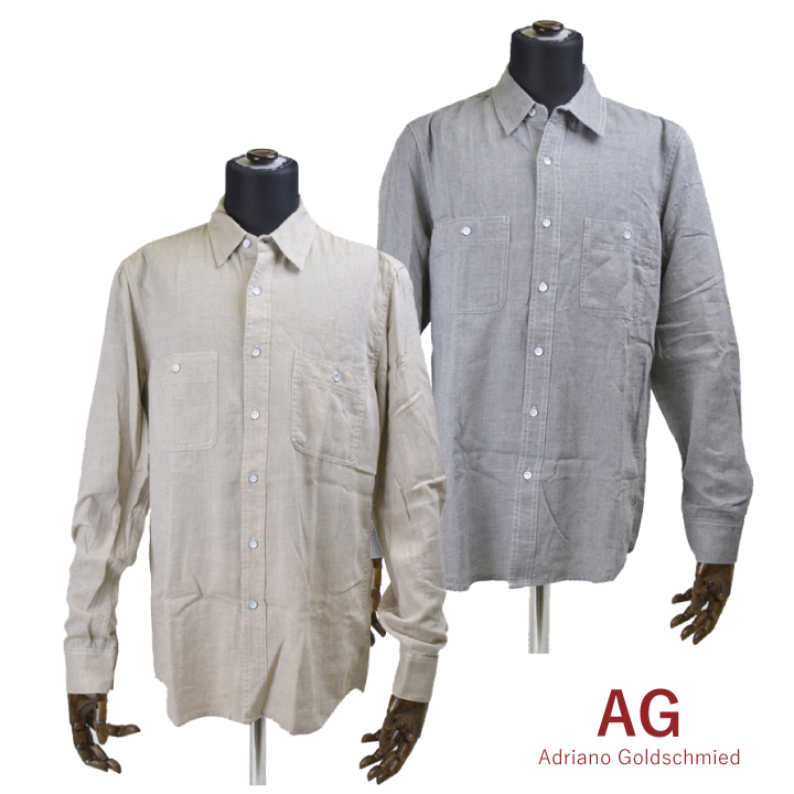 AG JEANS シャツ アドリアーノゴールドシュミッド DUAL PKT SHIRT 7538LWT 【marquee】