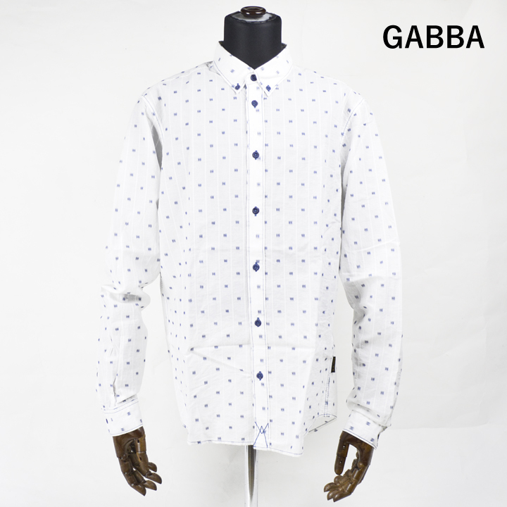 GABBA デザインシャツ GOMA L/S SHIRT 【marquee】