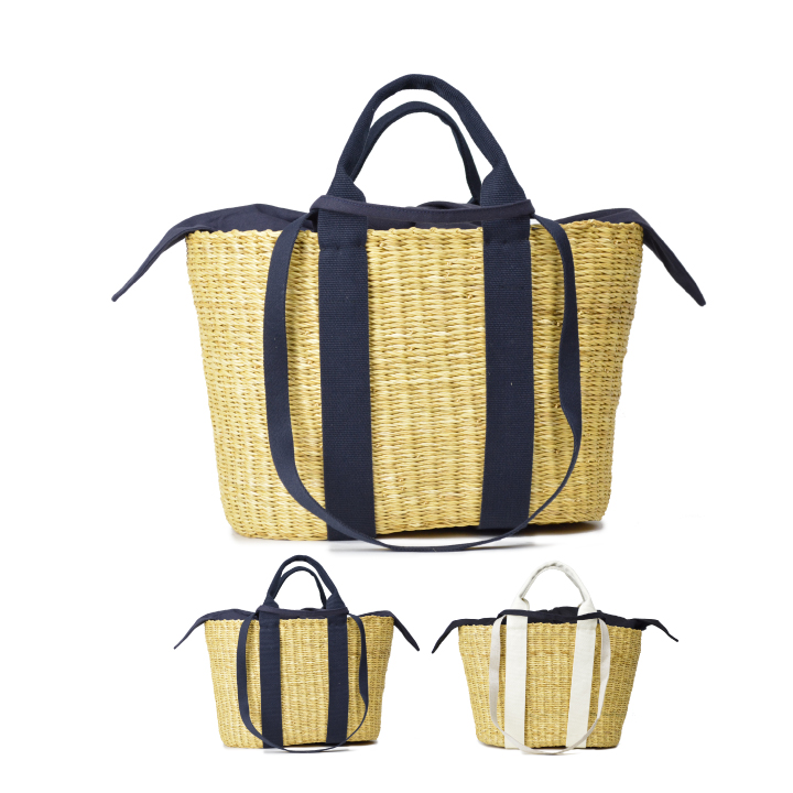 MUUN (ムーニュ)CABA-P HDL かごバッグ布袋付き レディース バッグ トートバッグ