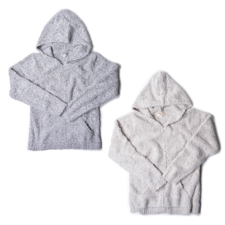 ベアフットドリームス パーカー レディース BAREFOOT DREAMS Cozychic Heathered Womens Zip Up Hoodie #665 【marquee】