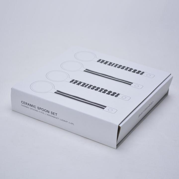 マリメッコ セラミック スプーン 4本セット marimakko CERAMIC SPOON 4pcs 068008