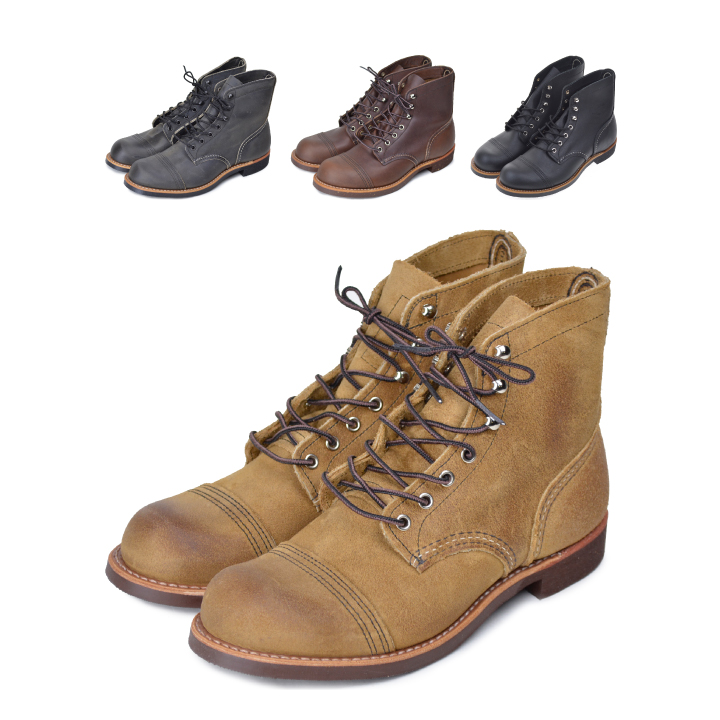 RED WING レッドウィング 6-INCH IRON RANGER 8111 8083 8086【marquee】