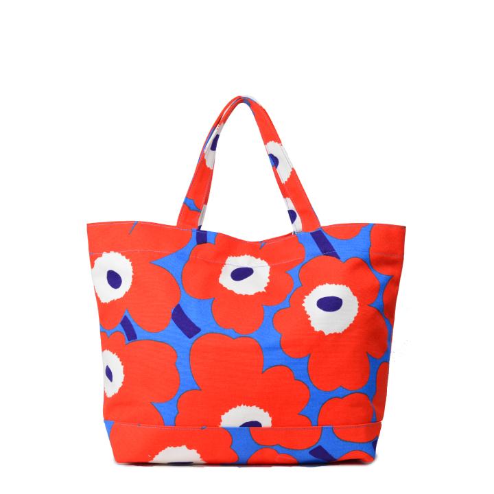 マリメッコ ウニッコ トートバッグ 花柄 おしゃれ かわいい プレゼント ギフト marimekko Pieni Unikko shopping bag 46451 【marquee】