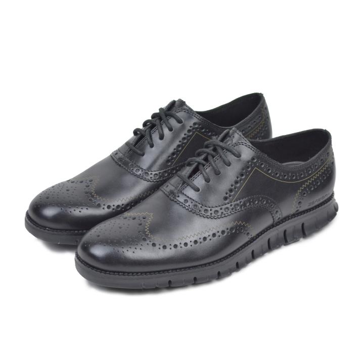 コールハーン メンズ シューズ 靴 革靴 ビジネスシューズ ブラック ゼログランド ウィング オックスフォード COLE HAAN Zerogrand Wing Ox C20719【marquee】
