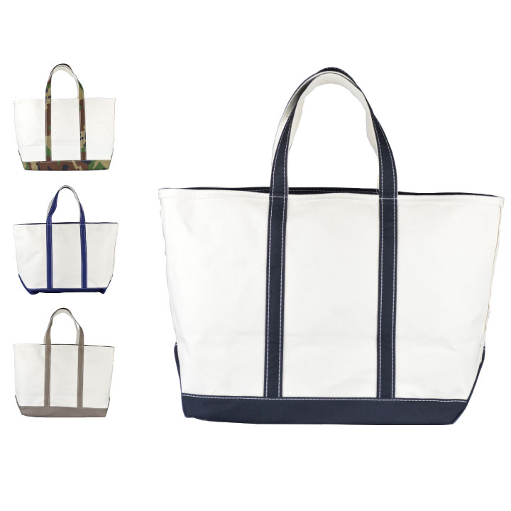 LL BEAN エルエルビーン / Boat and Tote, Zip-Top Large トートバック ボート ジップ【marquee】