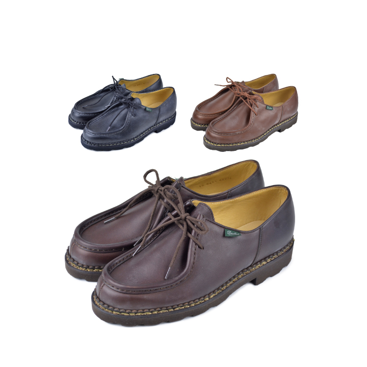 【5%還元!】PARABOOT パラブーツ MICHAEL Shoes ミカエル レザーシューズ メンズ 革靴【marquee】