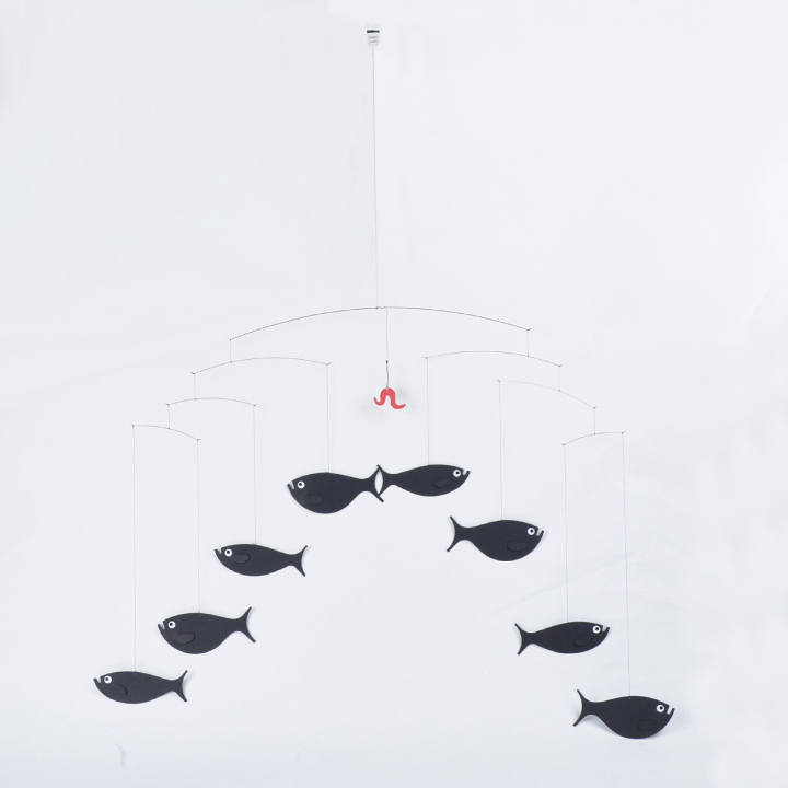 【5%還元!】フレンステッドモビール FLENSTED mobiles Shoal of Fish 魚の群れ 030 北欧系 インテリア 【marquee】