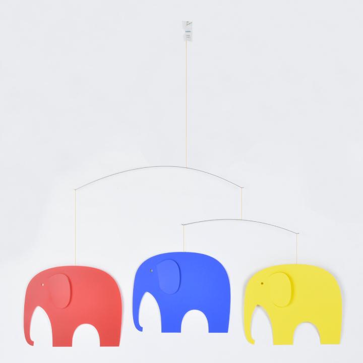 フレンステッドモビール FLENSTED mobiles Elephant party 071 インテリア 雑貨 北欧 デンマーク モビール 3匹のゾウ 【marquee】