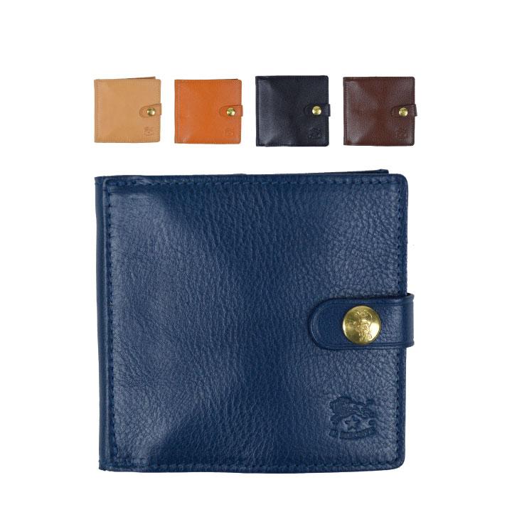 【5%還元!】イル ビゾンテ IL BISONTE C0508 P 二つ折り財布 コンパクトサイズ レザー メンズ レディース【marquee】