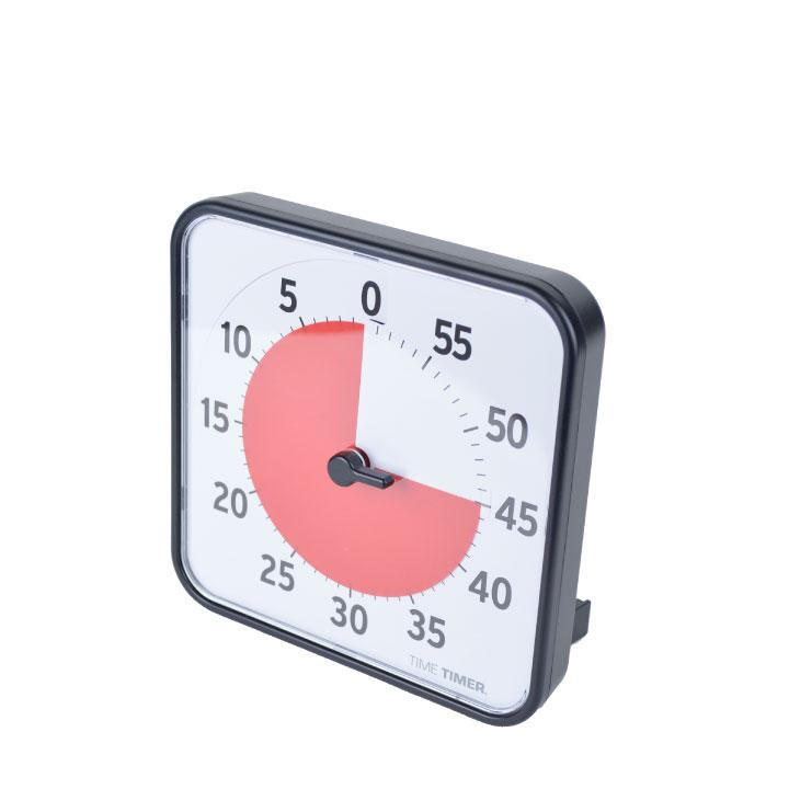 15時までは当日発送 18%OFF Time Timer タイムタイマー ORIGINAL TIME TIMER 8 TT08B-W 8インチ marquee 音量調整 保障 アラーム タイマー 静か 60分 時間管理