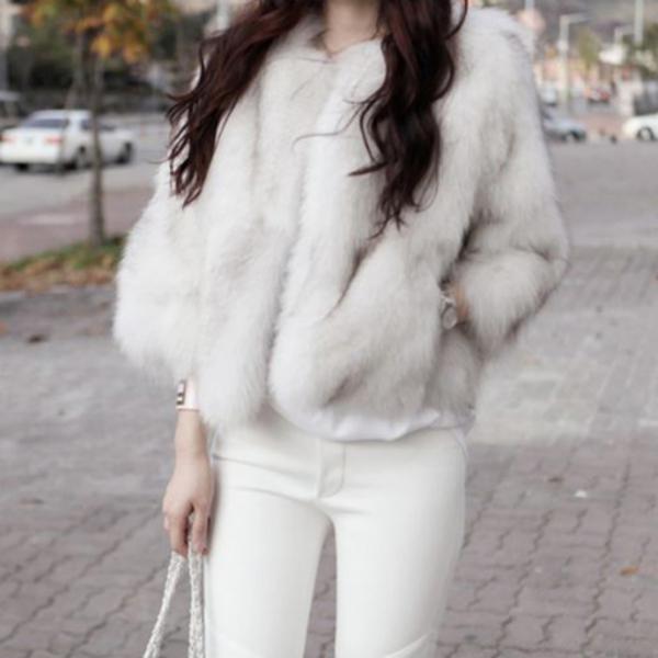 ファージャケット#10084;七分袖でカジュアルにも フ韓国ファッションアウター ファーコート ラッピング無料 ファージャケット アウター もこもこ 激安超特価 ふわふわ ふんわり あったかい ギャル系 セレブ 防寒 秋冬 韓国 XXL XS ホワイト レディース ピンク XL きれいめ S M 大人 可愛い L