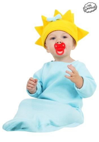 Maggie Simpson コスチューム クリスマス ハロウィン 子ども コスプレ 衣装 仮装 こども イベント 子ども パーティ ハロウィーン 学芸会