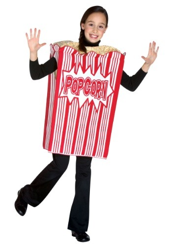 Popcorn チャイルド コスチューム ハロウィン 子ども コスプレ 衣装 仮装 こども イベント 子ども パーティ ハロウィーン 学芸会 学園祭 学芸会 ショー お遊戯会 二次会 忘年会 新年会 歓迎会 送迎会 出し物 余興 誕生日 発表会 バレンタイン ホワイトデー