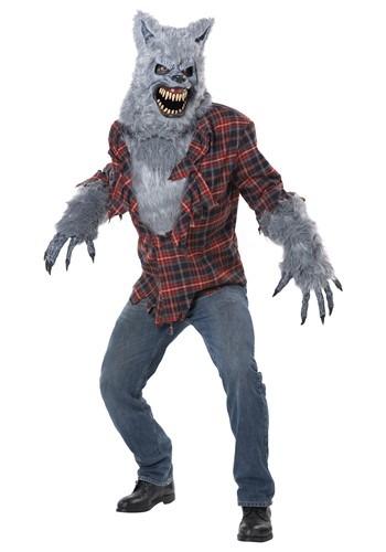 大人用 Gray Lycan Werewolf コスチューム 特別セール品 ハロウィン メンズ コスプレ 衣装 男性 日本産 仮装 全品P5倍 クーポン有 ハロウィーン 4日~ 学芸会 パーティ イベント 男性用