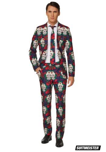 Day of the Dead Suitmeister Men's 気質アップ Suit コスチューム ハロウィン メンズ コスプレ 学芸会 イベント レビューを書けば送料当店負担 ハロウィーン 男性用 男性 仮装 パーティ クーポン有 全品P5倍 4日~ 衣装