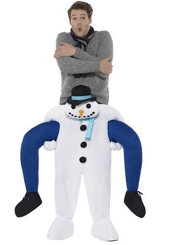 Snowman Piggyback コスチューム ハロウィン メンズ コスプレ 衣装 男性 全品P5倍 イベント パーティ ハロウィーン 一部予約 男性用 イーグルス感謝祭 仮装 当店は最高な サービスを提供します 学芸会