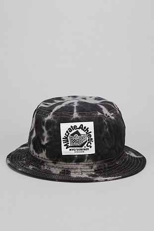 Milkcrate Athletics Grey Tie-Dye Bucket Hat 大人気 ミルクレイト グレー絞り染め バケットハット Milkrate Athletics 日本未発売