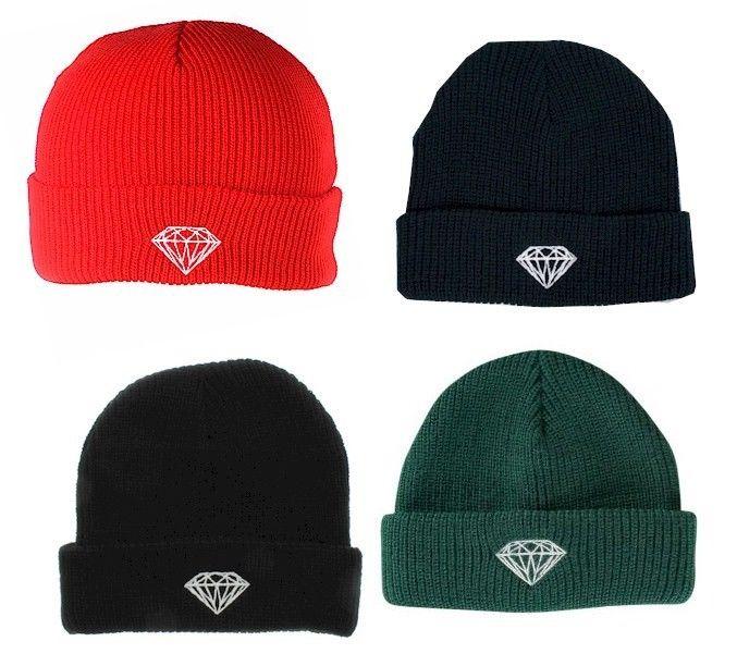 Diamond Supply Brilliant Fold ダイヤモンドサプライ ブリリアントフォール ビーニー 選べる4色 ニット 帽子 キャプ