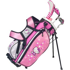 ハローキティゴルフ ジュニアセット Hello Kitty Golf Junior Set 3本組 USモデル