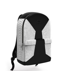 SPRAYGROUND CUT AND SAW WHITE FAUX CROCODILE BACKPACK バックパック 鞄 カバン リュック ユニセックス