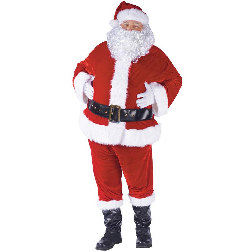4dd9472c57f32 本格的 本物そっくりのサンタクロース衣装 コスプレ 大きいサイズのサンタ サンタクロース コスチューム ベロア ハロウィン