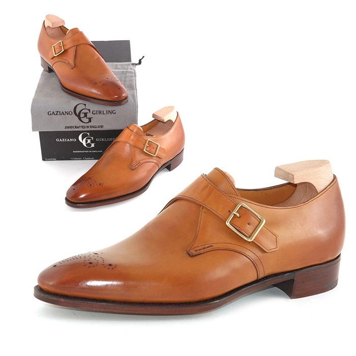 【全品P5倍】送料無料 ガジアーノ&ガーリング Gaziano & Girling メンズ 革靴 紳士靴 ビジネス ビジネスシューズ 高級 本革 通勤 CARLYLE IN VINTAGE CHESTNUT CALF DG70