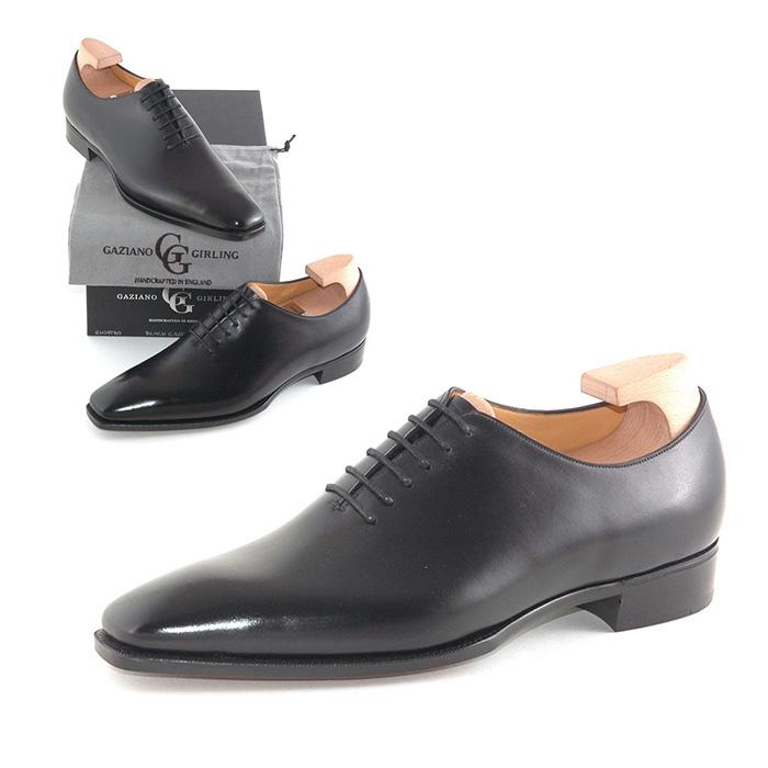 【全品P5倍】送料無料 ガジアーノ&ガーリング Gaziano & Girling メンズ 革靴 紳士靴 ビジネス ビジネスシューズ 高級 本革 通勤 SINATRA IN BLACK CALF - TG73