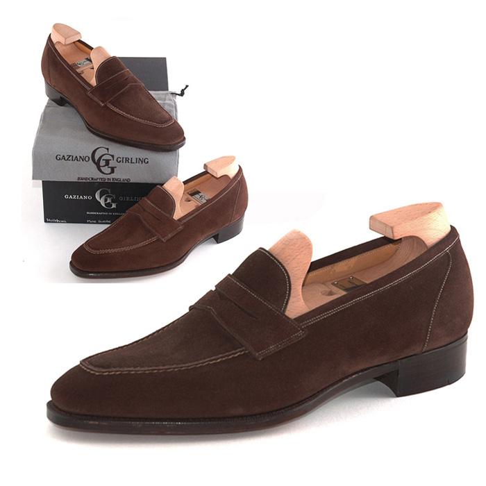 【全品P5倍】送料無料 ガジアーノ&ガーリング Gaziano & Girling メンズ 革靴 紳士靴 ビジネス ビジネスシューズ 高級 本革 通勤 HOLKHAM IN MOLE SUEDE - KN14