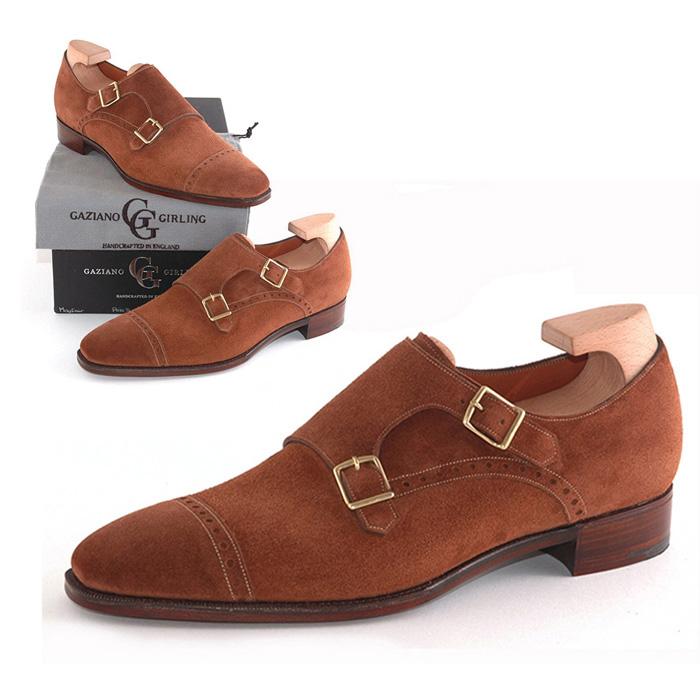 送料無料 ガジアーノ&ガーリング Gaziano & Girling メンズ 革靴 紳士靴 ビジネス ビジネスシューズ 高級 本革 通勤 MAYFAIR IN POLO SUEDE - MH71