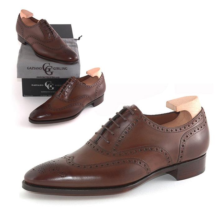 送料無料 ガジアーノ&ガーリング Gaziano & Girling メンズ 革靴 紳士靴 ビジネス ビジネスシューズ 高級 本革 通勤 ROTHSCHILD IN VINTAGE OAK CALF - DG70