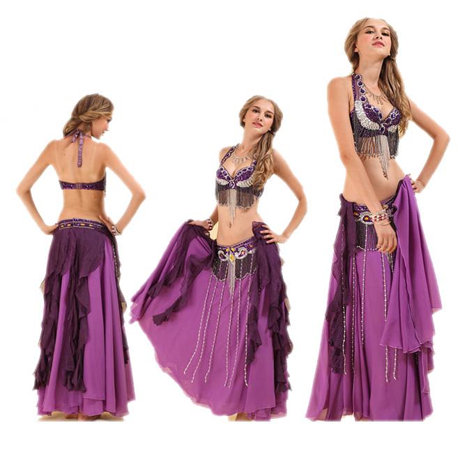 【3点セット】ベリーダンス 3点セット 衣装 ステージ衣装 民族衣装 ダンス コスチューム コスプレ エジプト ベール ブラトップ ベリーダンス衣装