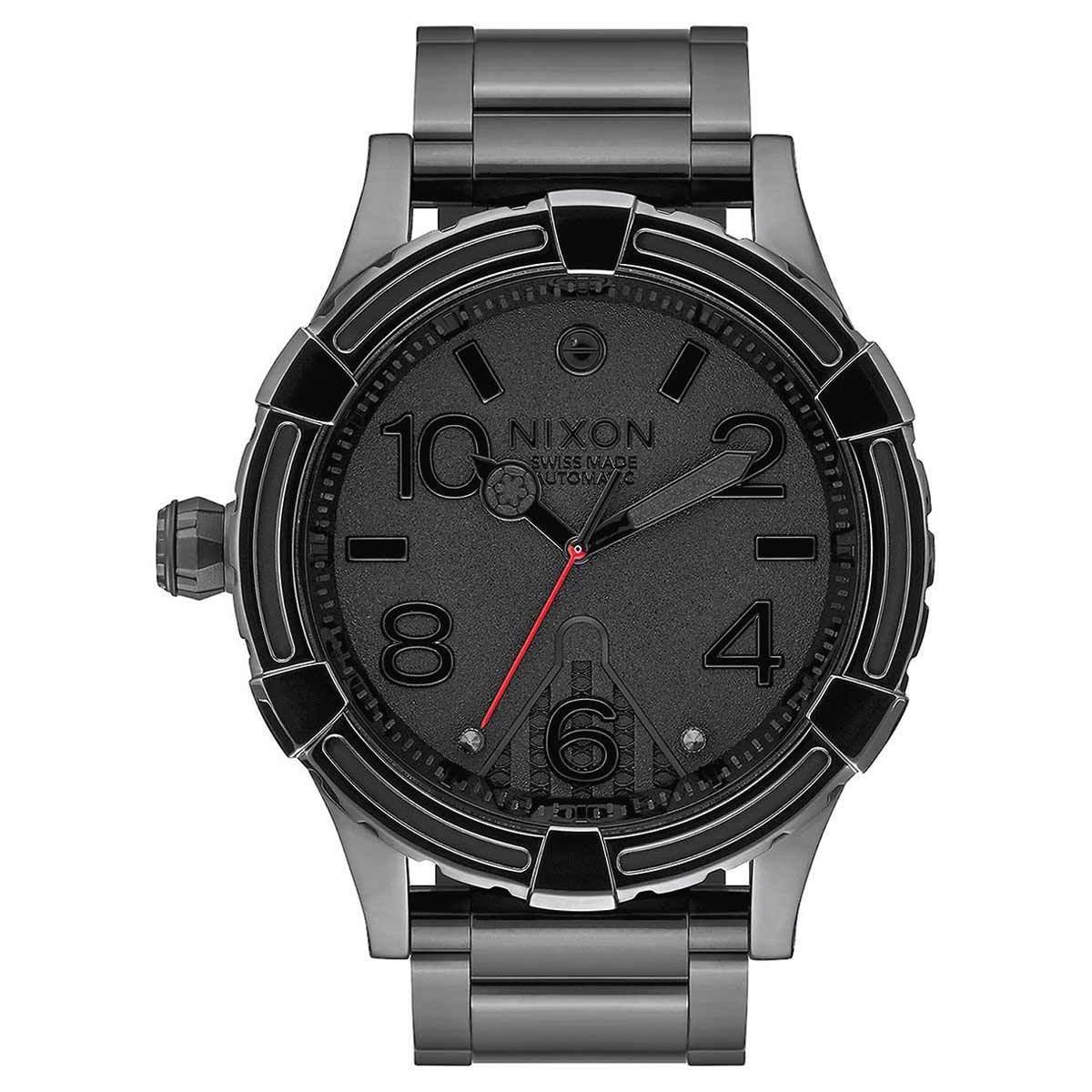 Nixon ニクソン A171SW2244 腕時計 51-30 メンズ 自動巻き オートマチック ブラック チタニウムL