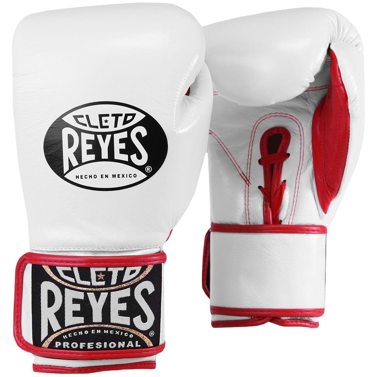 REYES レイジェス ボクシング グローブ ボクシンググローブ ホワイト 白 メキシコ製 本革 6オンス 10オンス