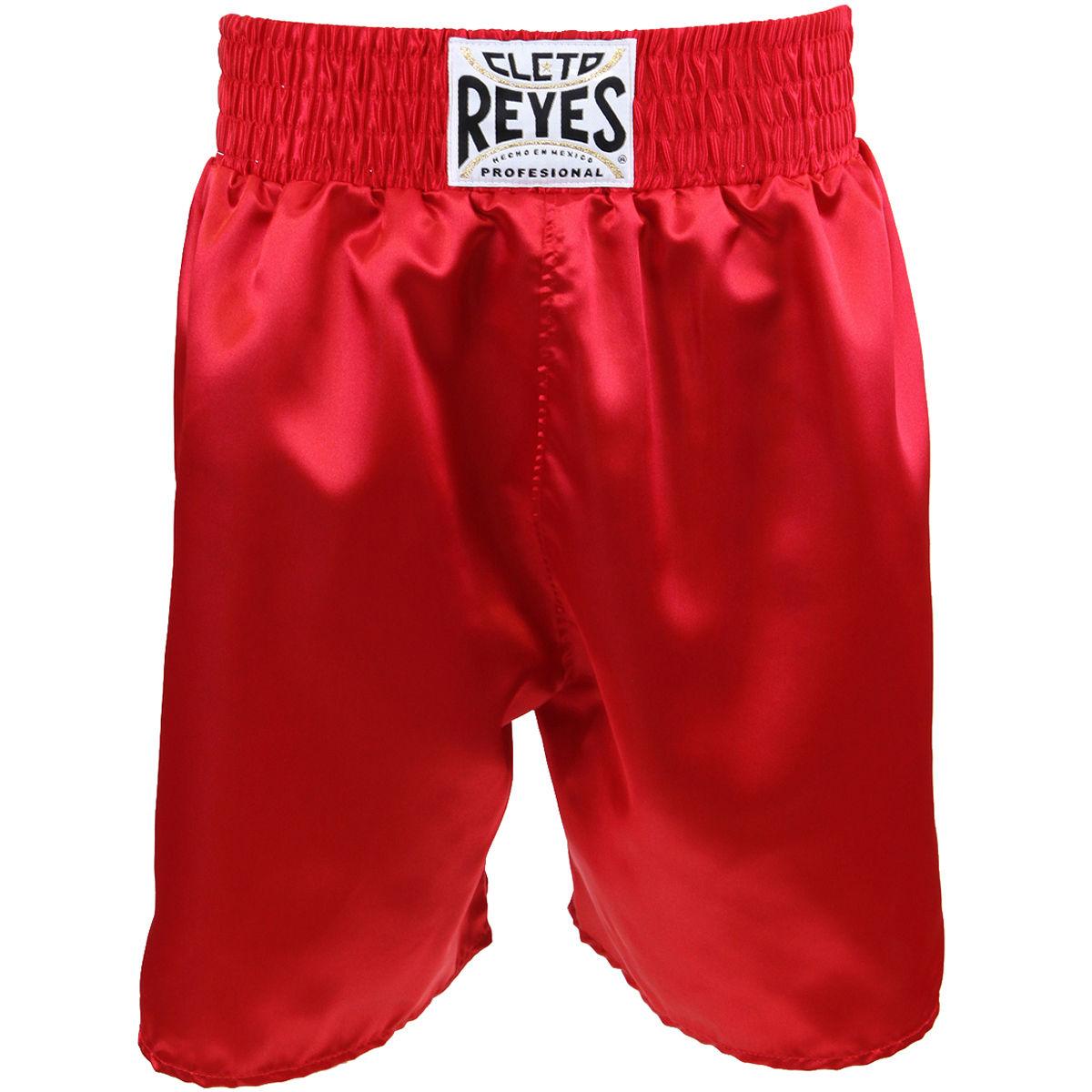REYES レイジェス ボクシング パンツ ハーフパンツ ボクシングトランクス レッド 赤