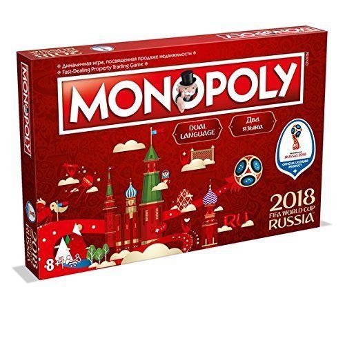 限定価格セール! 2018年 サッカー ロシア大会 2018年 公式ライセンス グッズ モノポリーゲーム 応援グッズ サッカー グッズ Monopoly Game, ゴルフ観音さま:9e86253d --- canoncity.azurewebsites.net