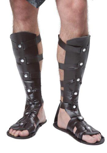 デラックス Gladiator Sandals ハロウィン コスプレ 衣装 仮装 小道具 おもしろい イベント パーティ ハロウィーン 学芸会