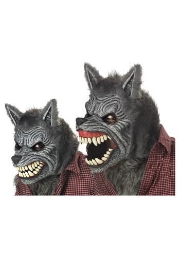 Grey Werewolf Ani-Motion マスク ハロウィン コスプレ 衣装 仮装 小道具 おもしろい イベント パーティ ハロウィーン 学芸会