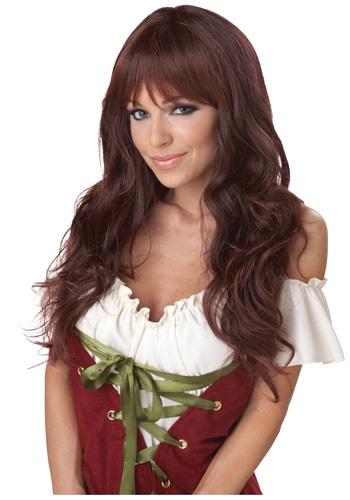 Wavy Brunette ウィッグ クリスマス ハロウィン コスプレ 衣装 仮装 小道具 おもしろい イベント パーティ ハロウィーン 学芸会