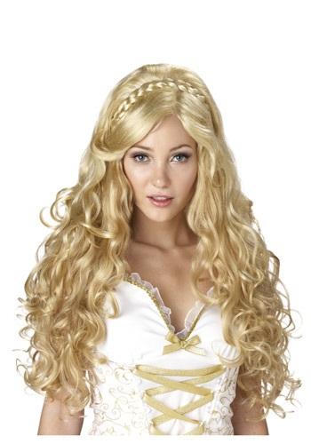 Golden Goddess ウィッグ クリスマス ハロウィン コスプレ 衣装 仮装 小道具 おもしろい イベント パーティ ハロウィーン 学芸会