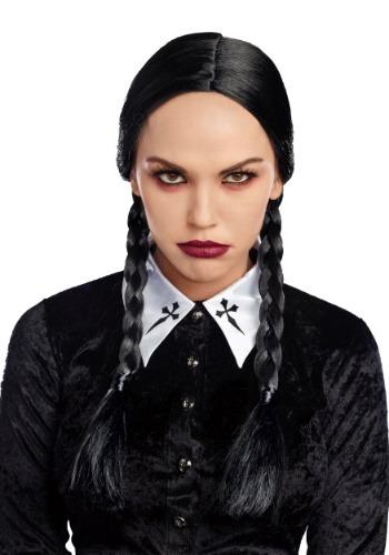 デラックス ブラック Braid Women's ウィッグ クリスマス ハロウィン コスプレ 衣装 仮装 小道具 おもしろい イベント パーティ ハロウィーン 学芸会