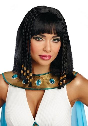 Women's Egyptian Queen ウィッグ クリスマス ハロウィン コスプレ 衣装 仮装 小道具 おもしろい イベント パーティ ハロウィーン 学芸会