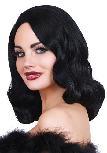 Hollywood ブラック Glamour ウィッグ クリスマス ハロウィン コスプレ 衣装 仮装 小道具 おもしろい イベント パーティ ハロウィーン 学芸会