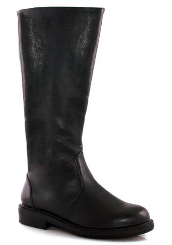 Men's Tall ブラック コスチューム ブーツ ハロウィン コスプレ 衣装 仮装 小道具 おもしろい イベント パーティ ハロウィーン 学芸会