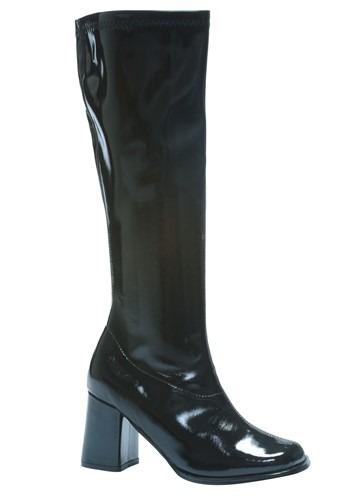 Women's ブラック Gogo ブーツ ハロウィン コスプレ 衣装 仮装 小道具 おもしろい イベント パーティ ハロウィーン 学芸会
