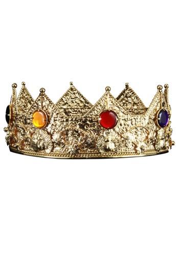 Gold King Crown ハロウィン コスプレ 衣装 仮装 小道具 おもしろい イベント パーティ ハロウィーン 学芸会