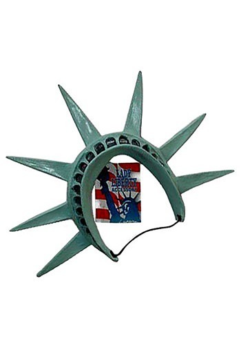 Statue of Liberty Tiara クリスマス ハロウィン コスプレ 衣装 仮装 小道具 おもしろい イベント パーティ ハロウィーン 学芸会