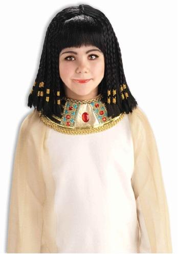 チャイルド Queen of the Nile ウィッグ クリスマス ハロウィン コスプレ 衣装 仮装 小道具 おもしろい イベント パーティ ハロウィーン 学芸会