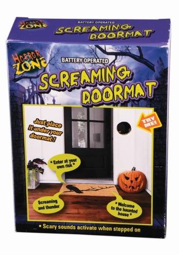 Motion Activated Screaming Doormat クリスマス ハロウィン コスプレ 衣装 仮装 小道具 おもしろい イベント パーティ ハロウィーン 学芸会